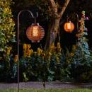 Forli Flaming Lantern Set of 2