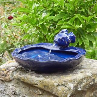 Ceramic Fish Fountain