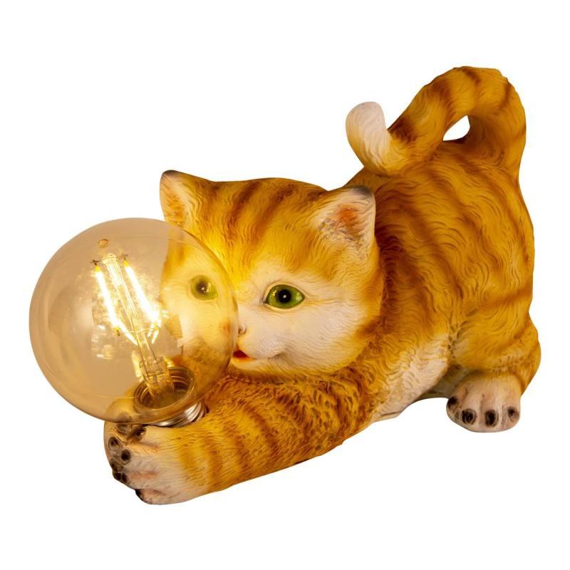 Solar-Leuchttier 'Kätzchen' von Näve