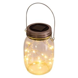 Solar Suspension Lamp Jam Jar