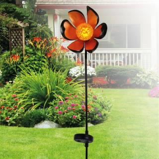 Lampe solaire Fleur