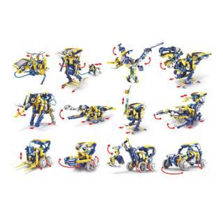 Solar-Baukasten Roboter, 12 Modelle