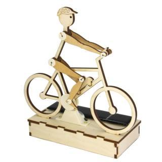 Solar wooden kit Cyclist