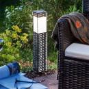 Solar-powered light Rattan