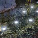 Solar-powered underwater spot lamps Super Splash