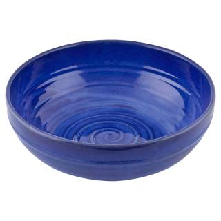 Big bowl for Solar-powered Cascade Fountain blue