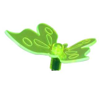 Solar-powered light Neon Butterfly