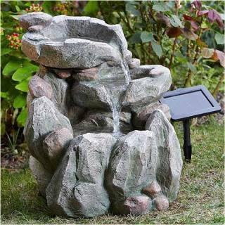 Solarbetriebene Gartenbrunnen