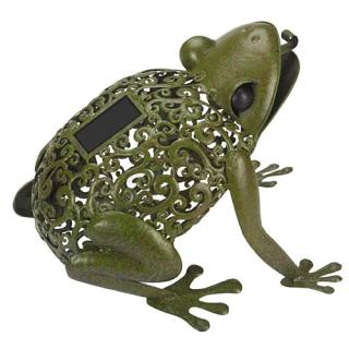 Animal figure light Metal Frog